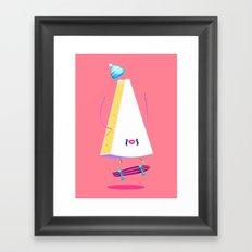 Lords of Foodtown III Framed Art Print
