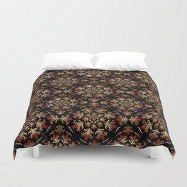 Turkish tulip - Ottoman tile pattern 15 Duvet Cover