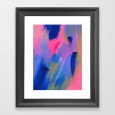 somewhere elses Framed Art Print