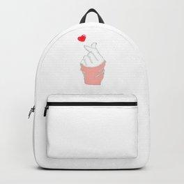 finger heart sign korean Backpack
