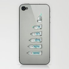 Life is like a tube of toothpaste iPhone & iPod Skin