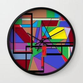 Geometry - Shape on Shape Wall Clock