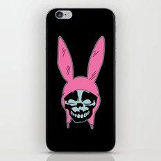 Grey Rabbit/Pink Ears iPhone Skin