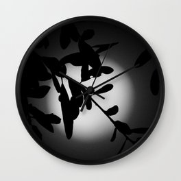 The Elegant Side of the Moon Wall Clock