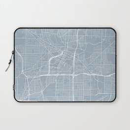 Akron Map, USA - Slate Laptop Sleeve