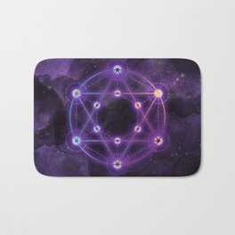 The Geometry of the Divine Bath Mat