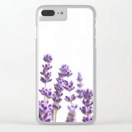 Purple Lavender #4 #decor #art #society6 Clear iPhone Case