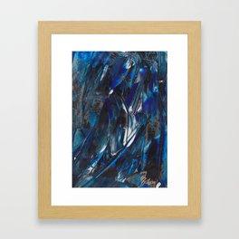Waves Triptych I Framed Art Print