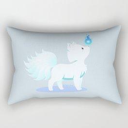 Kawaii fantasy animals - Kyuubi no Kitsune Rectangular Pillow
