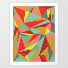 Diamonoid: End of Summer Soirée Art Print