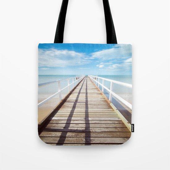 Pier sky 4 Tote Bag