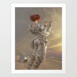Mars Sonata Art Print