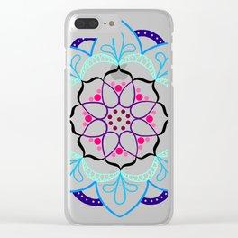 Mandala I - Colour Outline I Clear iPhone Case
