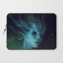 Mermaid portrait Laptop Sleeve