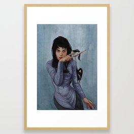 Mia Framed Art Print