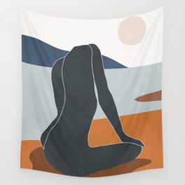 Abstract Art Nude 4 Wall Tapestry