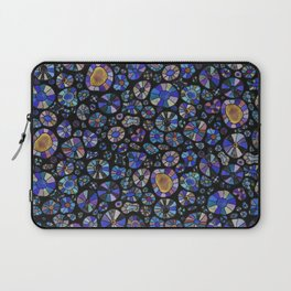 Barca Dots Pattern blue/purple/black Laptop Sleeve