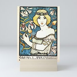 Paul Berthon Salon Des Cent Vintage Art Nouveau Mini Art Print