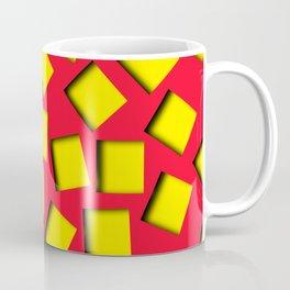 yellow square holes Coffee Mug