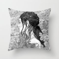 Love is in Beauty and Chaos Throw Pillow