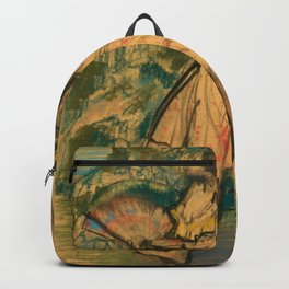 "Edgar Degas ""Dancer with a Fan"" Backpack"