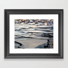 River of Clay Framed Art Print