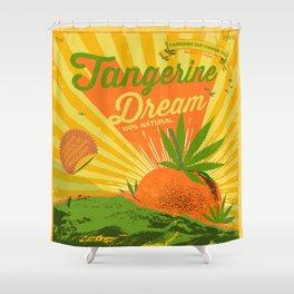 TANGERINE DREAM Shower Curtain