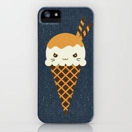 Evil Ice Cream Cones iPhone Case