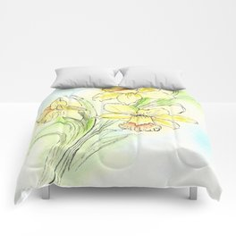 Yearning for Spring Comforters