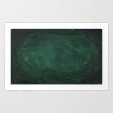 Green Sky Art Print