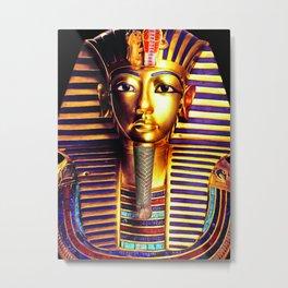 King Tutankhamun Metal Print
