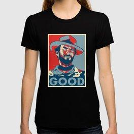 "Clint Eastwood ""Hope"" Poster T-shirt"