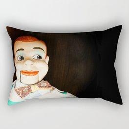 Creepy Dummy Rectangular Pillow