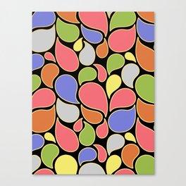 RAIN OF COLORS Canvas Print