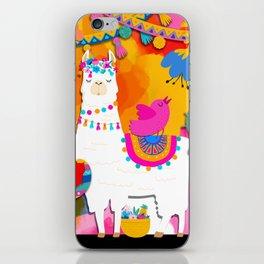 Fiesta Llama iPhone Skin