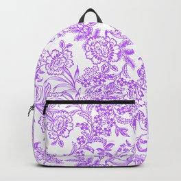 Radiant Orchid Tea Reversed Backpack