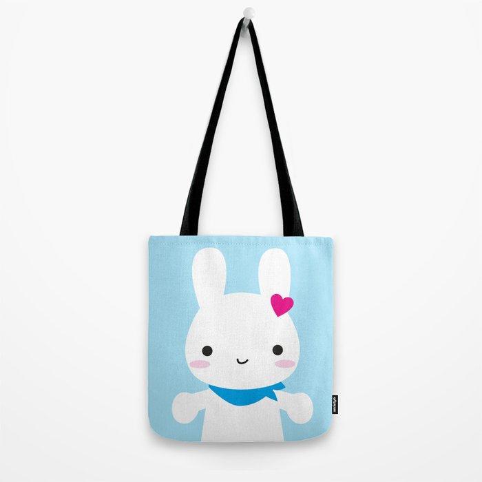 Super Cute Kawaii Bunny Tote Bag
