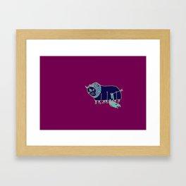 la fuckin' patria Framed Art Print