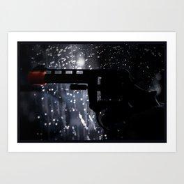 Camera Noir Art Print
