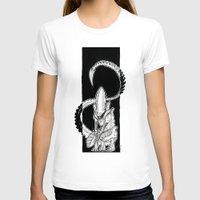 alien T-shirts featuring Alien by Mathilde Fontano