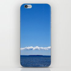 PUFFY LOW CLOUDS iPhone Skin