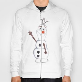 olaf from frozen Hoody