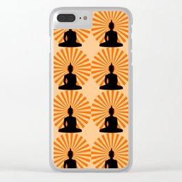 Buddha Dawn Clear iPhone Case