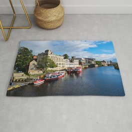York City Guildhall and river Ouse Rug