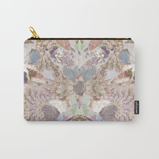 Pastel Powder Gems  Carry-All Pouch