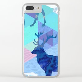 Stag Party Clear iPhone Case