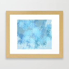 Celestite Druzy Framed Art Print