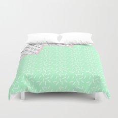 MEMPHIS GREEN Duvet Cover