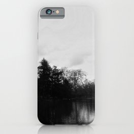 Nature, landscape and twilight 8 iPhone Case