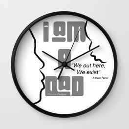 I Am A Dad Wall Clock